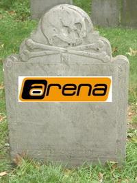 Arena Grabstein (c) pixelio.de