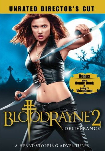Bloodrayne 2 DVD Cover