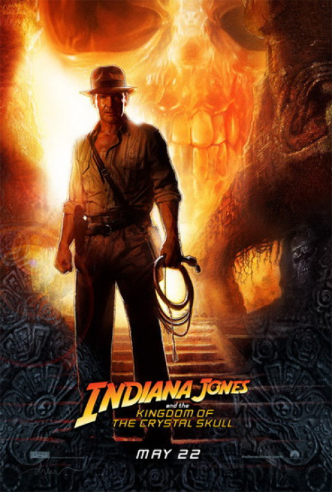 Indy Skull Poster
