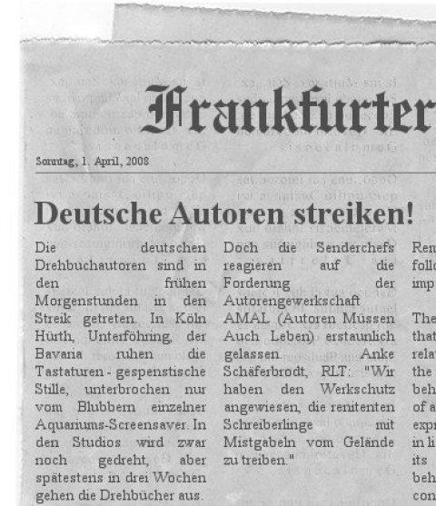 Fake Frankfurter