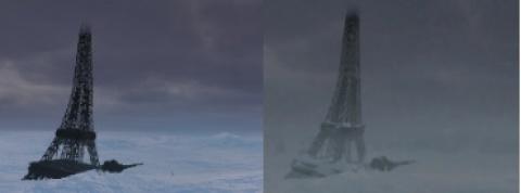 Paris in Eis