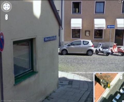 Streetview mit Aygo