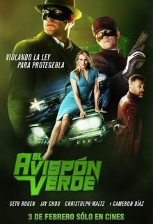 Green Hornet Spanish poster