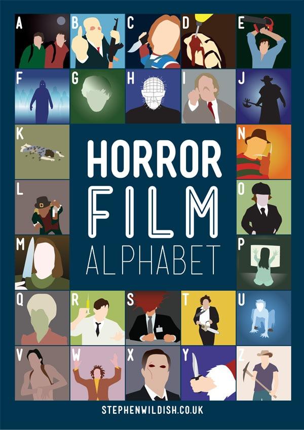 Ratespiel 2: Das Horror-Alphabet - Wortvogel