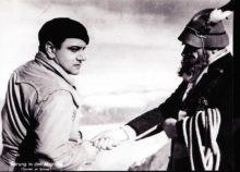 """Der großartige Sensationsdarsteller Harry Piel in dem Abenteuerfilm """"Sprung in den Abgrund"""", der mittlerweile sehr rar ist"""