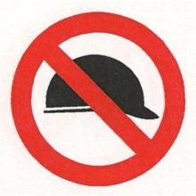 PV38 - No Hardhats NOSA Safety Sign-500x500