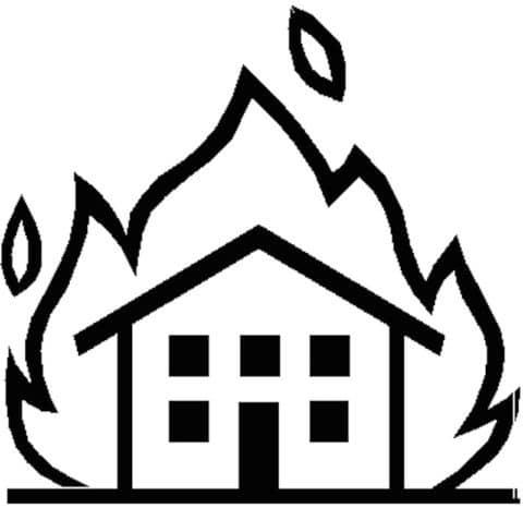Brennendes-Haus