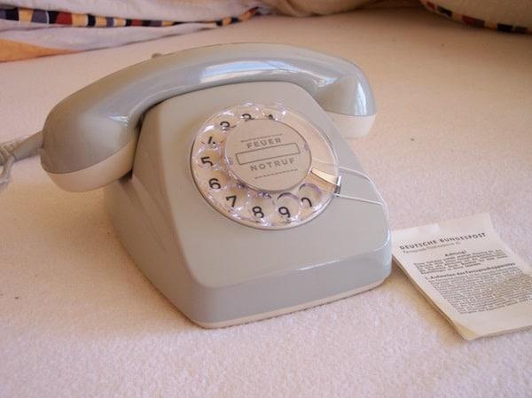 Frühe Telefonate