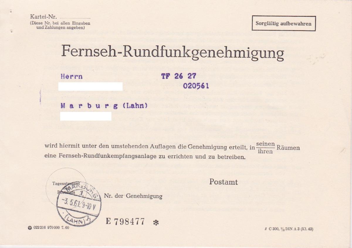 Reichs-Telekom: Der deutsche Amtsschimmel - intakt - Wortvogel