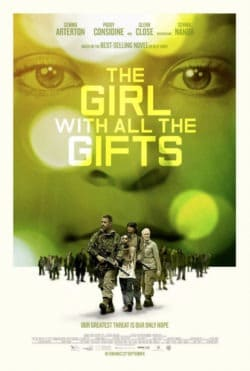 girl with gifts poster